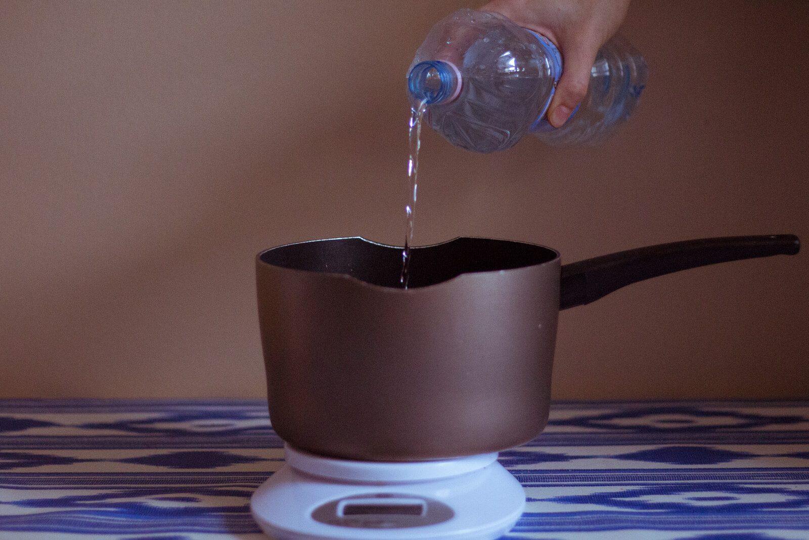 Отмеряем воду