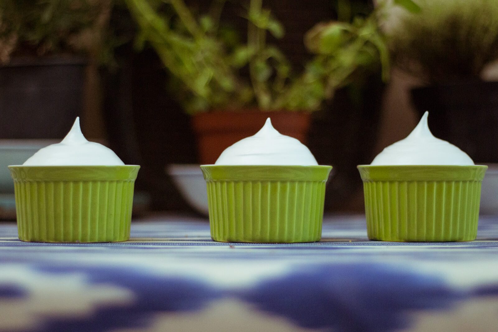 Лаймовый десерт